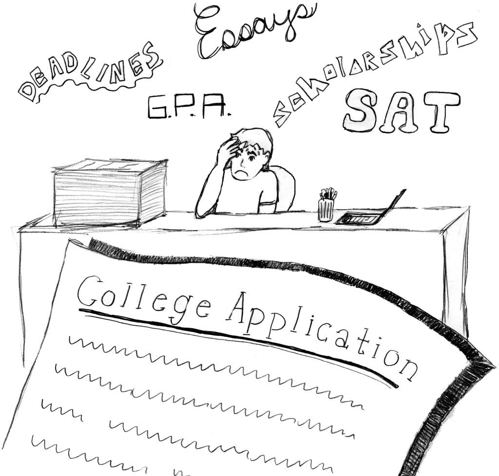 Stress Test Application: The Trinity Voice : Stress For Success In College Admissions