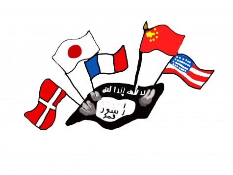 Triumph together against terrorism