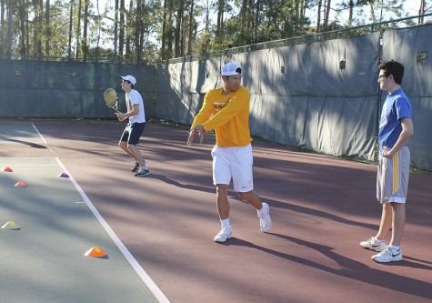 Order on the court: conditioning keeps tennis players focused under new coach