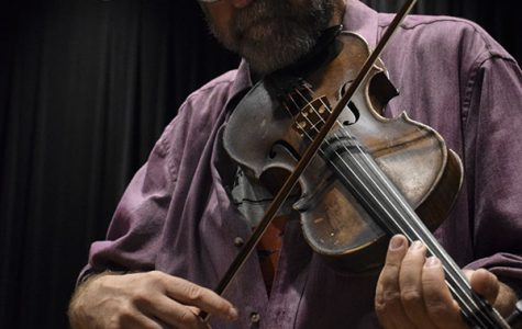 Alaska's fiddling poet returns