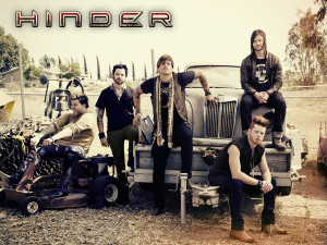 Fifteen minutes of Hinder