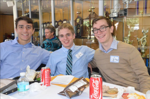 Young alumni seminar inspires grads