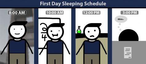 First day sleeping schedule