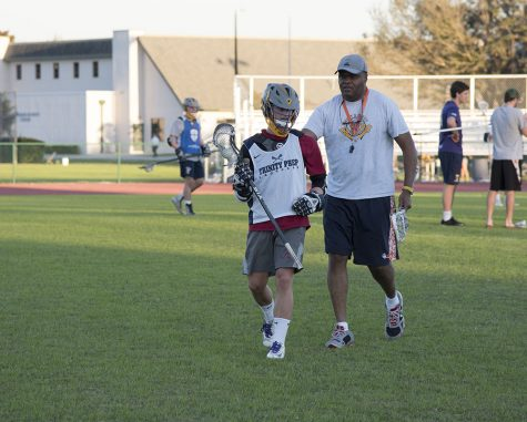 Lawson leads lacrosse team and school