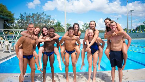 Saints' swimmers strive for success