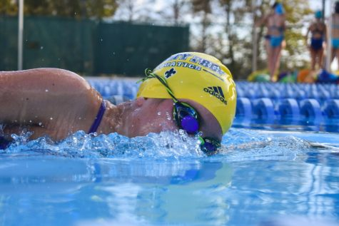 Middle school swimmers star at states