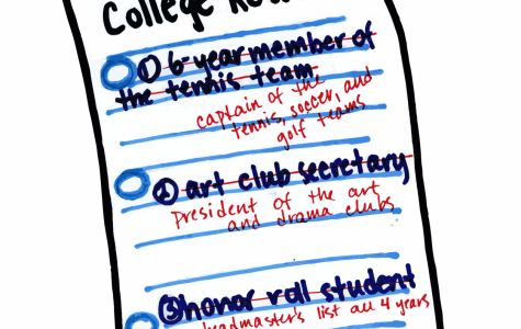 To be real or to reinvent:  a closer look at the college process
