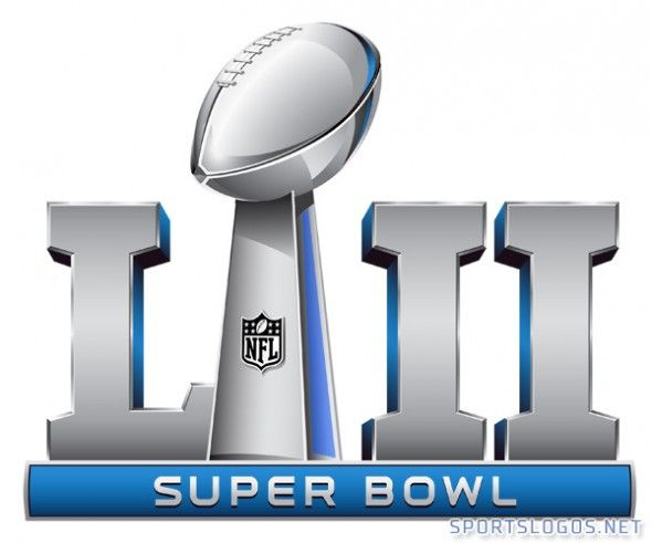 The logo for Super Bowl LII(52) taking place in Minnesota.