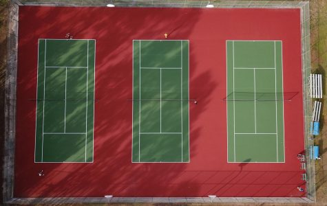 Courts revamped, players re-amped