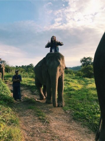 Oh, the places she goes! Sophomore tracks her travels on Instagram