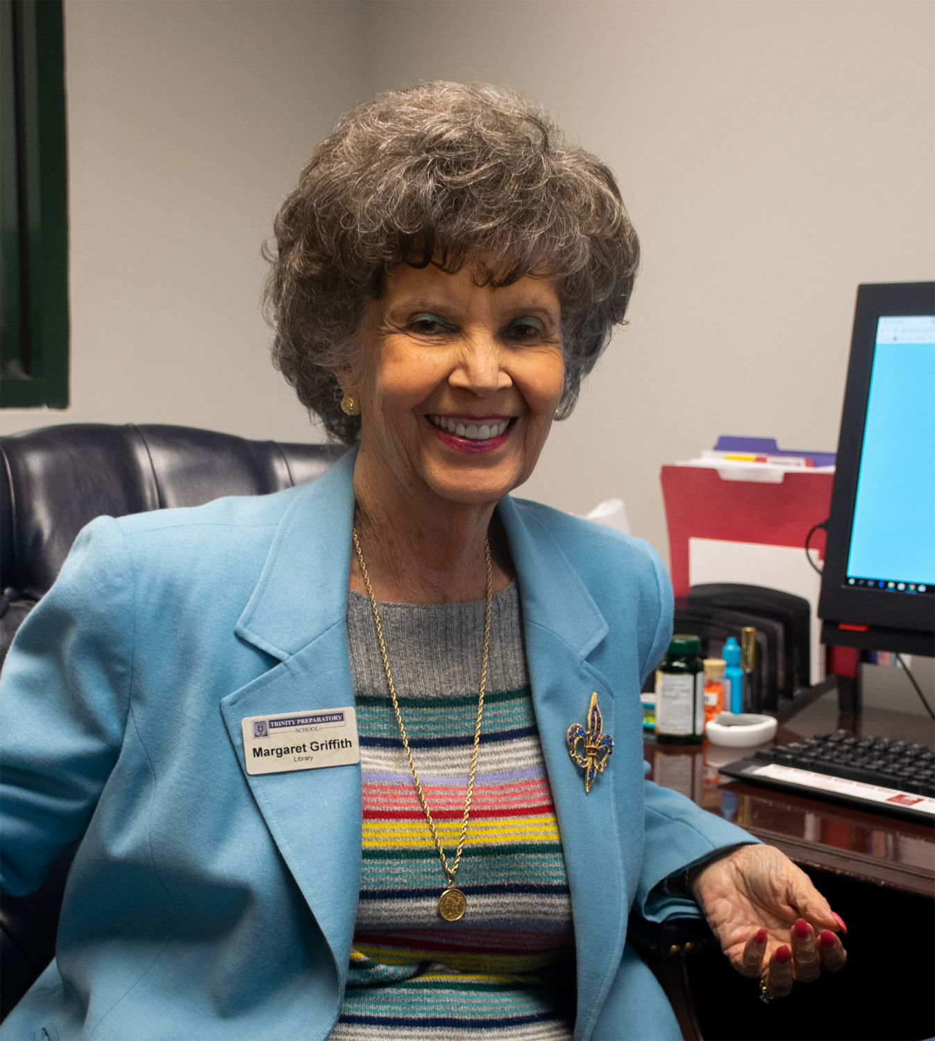 Margaret Griffith retires on Friday March 29th