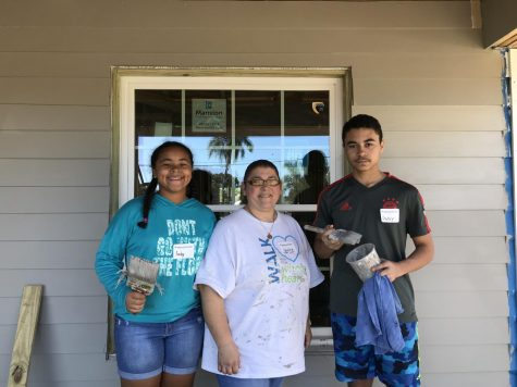 Saints give a hand to Habitat