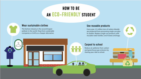 Sustainability doesn't have to be limited to the home. There are many simple ways to be environmentally friendly at school, too.